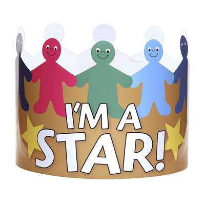Im A Star Crowns Pack Of 24, HYG65256