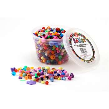 Bucket O Beads Multi Mix 10 Oz Of M By Hygloss Products
