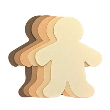Multicultural Family Cut Outs 8 1/2 In Daddy By Hygloss Products