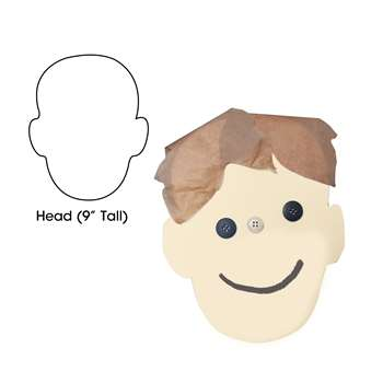 Big Cut-Outs 9 Head By Hygloss Products
