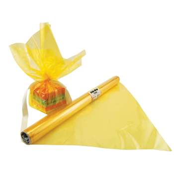 Cello Wrap Roll Yellow By Hygloss Products