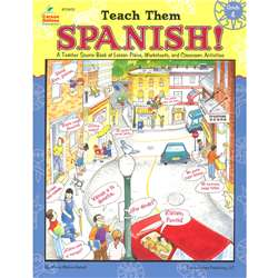 Teach Them Spanish. Grade 4 By Frank Schaffer Publications