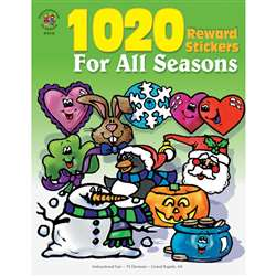 Sticker Book For All Seasons 1020Pk By Frank Schaffer Publications