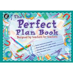 Plan Book The Perfect Gr K & Up 13 X 9 By Frank Schaffer Publications