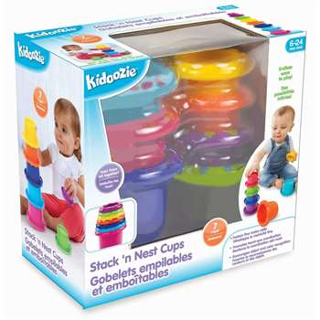 Stack N Nest Cups By International Playthings