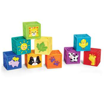 Squeak N Stack Baby Blocks, INPE00381