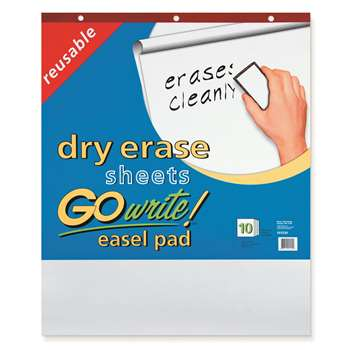 Reusable Dry Erase Easel Pad By Go Write Blazer Technology