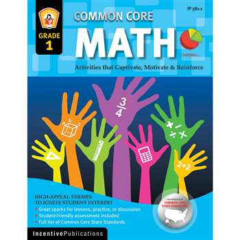 Math Gr 1 Common Core Reinforcement Activities By Incentive Publication