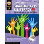 Language Arts & Literacy Gr 5 Common Core Reinforcement Activities By Incentive Publication