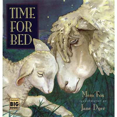 Time For Bed Big Book By Houghton Mifflin