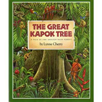 The Great Kapok Tree A Tale Of The Amazon Rain Forest Big Book By Houghton Mifflin