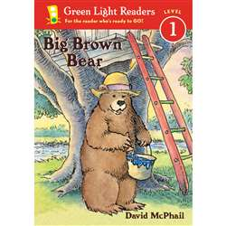 Green Light Readers Big Brown Bear Level 1 By Houghton Mifflin