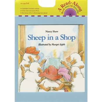 Carry Along Book & Cd Sheep In A Shop By Houghton Mifflin