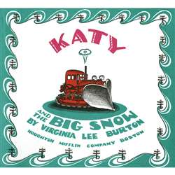 Carry Along Book & Cd Katy And The Big Snow By Houghton Mifflin