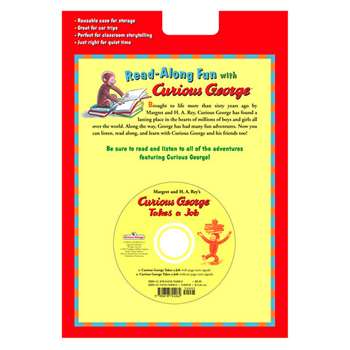 Carry Along Book & Cd Curious George Takes A Job By Houghton Mifflin