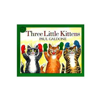 Carry Along Book & Cd Three Little Kittens By Houghton Mifflin