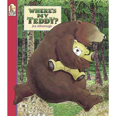 Wheres My Teddy Big Book By Candlewick