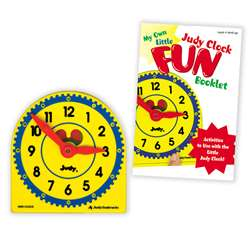 My Own Little Judy Clock W/ Book Gr K-3 Booklet By Frank Schaffer Publications