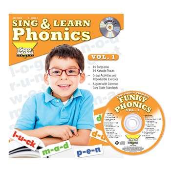 Sing & Learn Phonics Book Cd Vol 1, JMP125LK