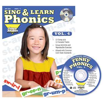 Sing & Learn Phonics Book Cd Vol 4, JMP128LK
