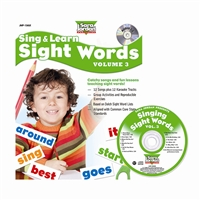 Sing & Learn Sight Words Book Cd 3, JMP136LK