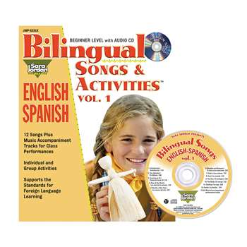 Bilingual Songs & Acts Book Cd Vol1, JMPS23LK