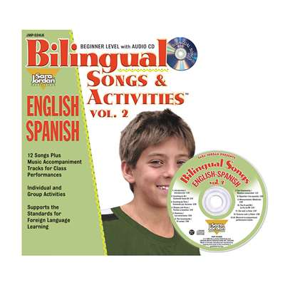 Bilingual Songs & Acts Book Cd Vol2, JMPS24LK