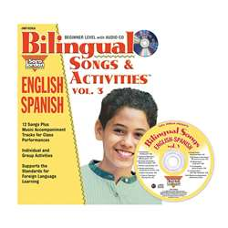 Bilingual Songs & Acts Book Cd Vol3, JMPS29LK