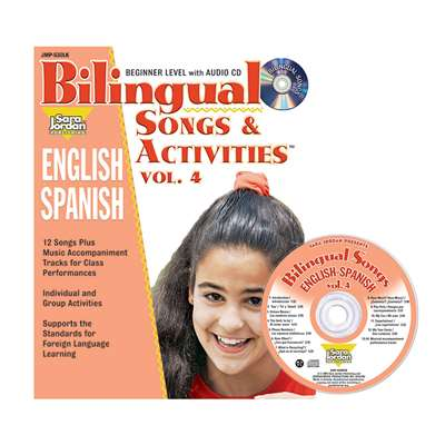 Bilingual Songs & Acts Book Cd Vol4, JMPS30LK