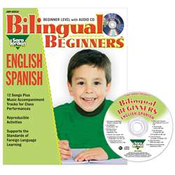 Bilingual Songs & Activities Book With Cd Beginner, JMPS39LK