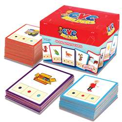 Cvc Builders Activity Cards 48/Set, JRL178