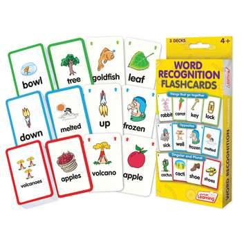 Word Recognition Flash Cards, JRL201
