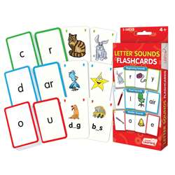 Letter Sounds Flash Cards, JRL202