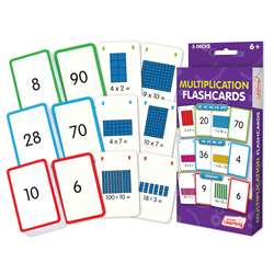 Multiplication Flash Cards, JRL206
