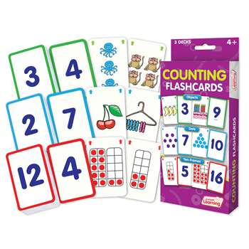 Counting Flash Cards, JRL210