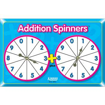Addition Spinners By Kagan Publishing