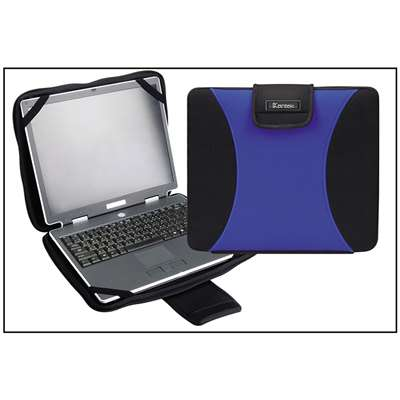 Neoprene Laptop Protective Bag Blue By Kantek