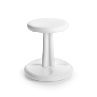 "Kids Kore Wobble Chair 14"" White, KD-114"