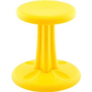 "Kids Kore Wobble Chair 14"" Yellow, KD-116"