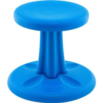 "Kore Preschool 12"" Blue Wobble Chair, KD-122"