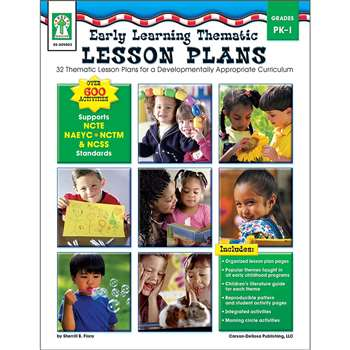 Early Learning Thematic Lesson Plans By Carson Dellosa
