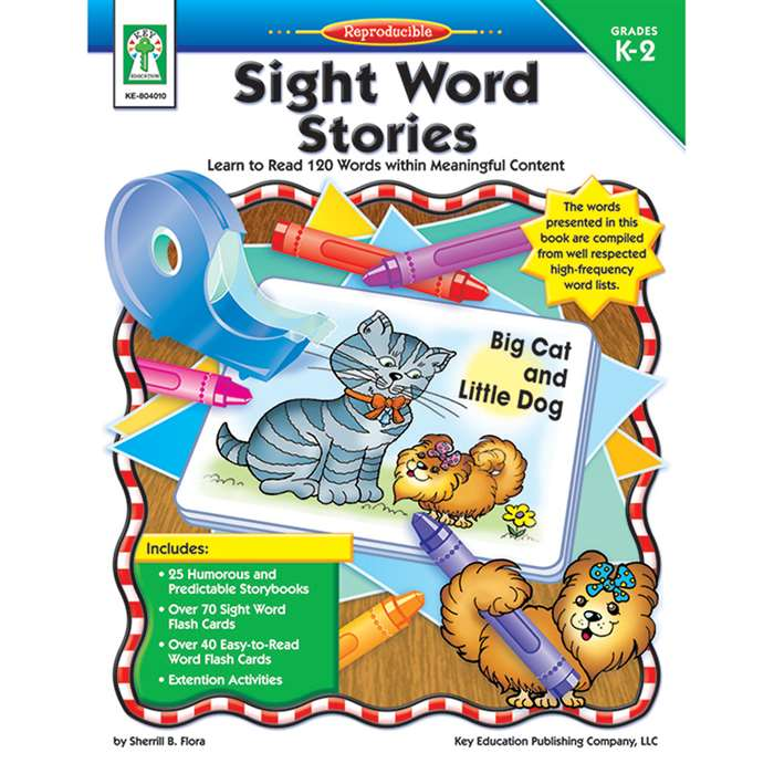 Sight Word Stories Grade K - 2 By Carson Dellosa