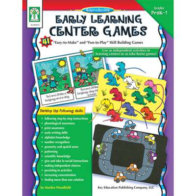 Early Learning Center Games By Carson Dellosa