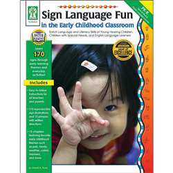 Sign Language Fun In The Early Childhood Classroom By Carson Dellosa