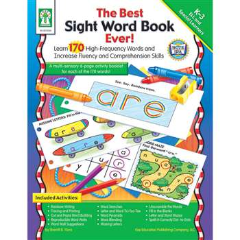 The Best Sight Word Book Ever By Carson Dellosa