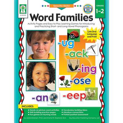 Shop Specific Skills Word Families Gr1-2 - Ke-804042 By Carson Dellosa