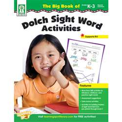 The Big Book Of Dolch Sight Word Activities By Carson Dellosa