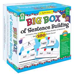 Big Box Of Sentence Building Game Age 5+ By Carson Dellosa