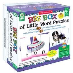 Big Box Of Little Word Puzzles By Carson Dellosa