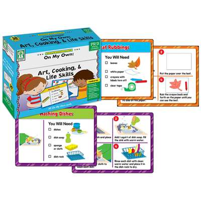 Shop On My Own Gr Pk-2 Art Cooking & Life Skills Centersolutions - Ke-840024 By Carson Dellosa